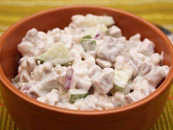 """""""Салат с перловкой"""" - аппетитно и сытно"""
